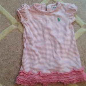 EUC Ralph Lauren Baby Girl Dress 9M